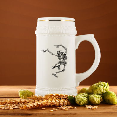 I feel Alive 22oz Beer Stein