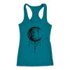 Boho Moon Women's Racerback Tank Top
