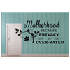 Privacy is Over-Rated Canvas Wall Art