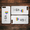 Astronaut and Pride iPhone Case
