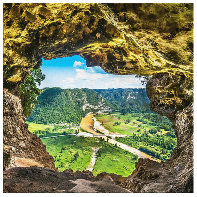 Cueva Ventana Puerto Rico Canvas Wall Art