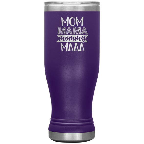 Mom Mama Mommy Maa 20oz Modern Tumbler