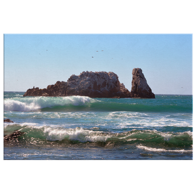 Dreaming with Matanzas Chile Canvas Wall Art