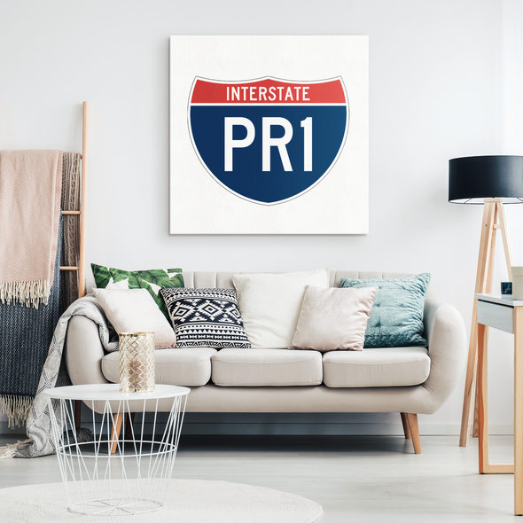 PR1 Canvas Wall Art