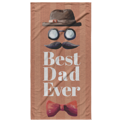 Best Dad Ever Beach Towel