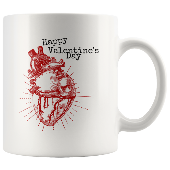 Happy Valentine's Day 11oz White Mug