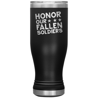 Honor Our Fallen Soldiers 20oz Modern Tumbler