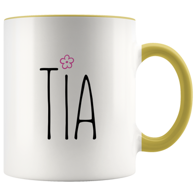 Tia 11oz Accent Mug