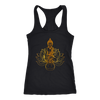 Buddha Lotus Women's Racerback Tank Top
