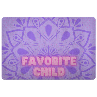Favorite Child Floor Mat