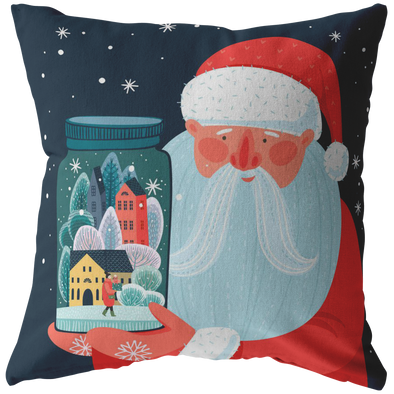 Magic Time Santa Claus Throw Pillow