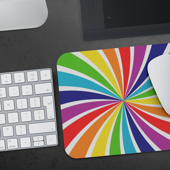 Feeling Rainbow Mousepad
