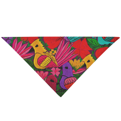 Colorful Birds Pet Bandana
