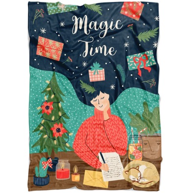 Magic Time Fleece Blanket