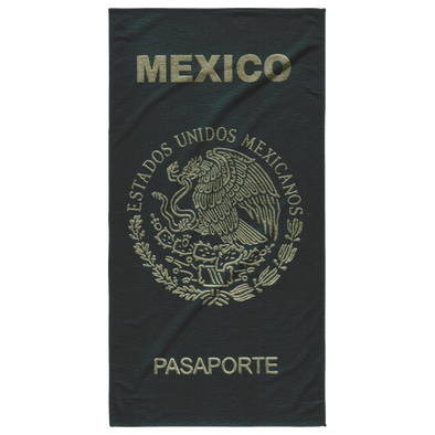 Passport Mexico Beach Towel