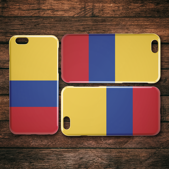 Colombia iPhone Case