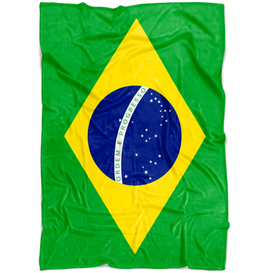 Dreaming with Brazil Fleece Blanket