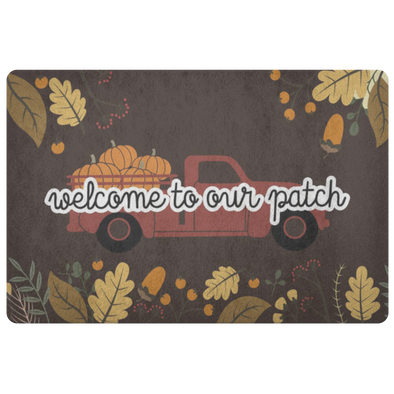 Welcome To Our Patch Floor Mat