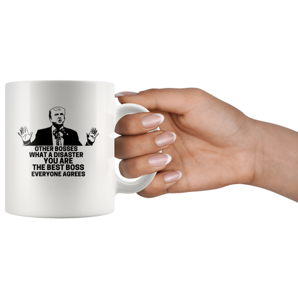 The Best Boss Ever- Everyone Agrees 11oz White Mug