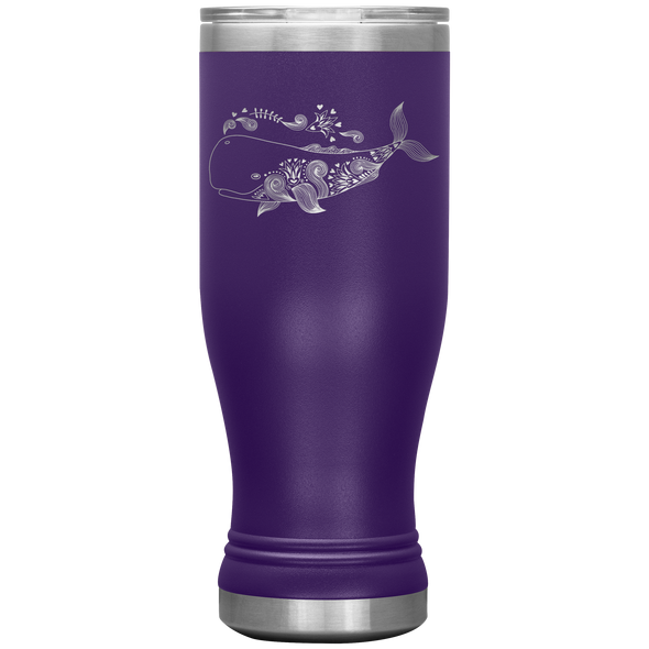 Happy Whale 20oz Modern Tumbler