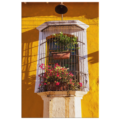 Balcony San Salvador El Salvador Canvas Wall Art