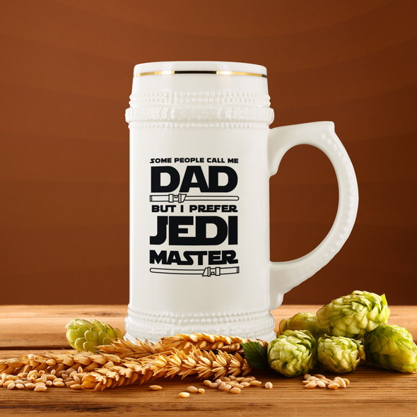 Jedi Master Dad 22oz Beer Stein
