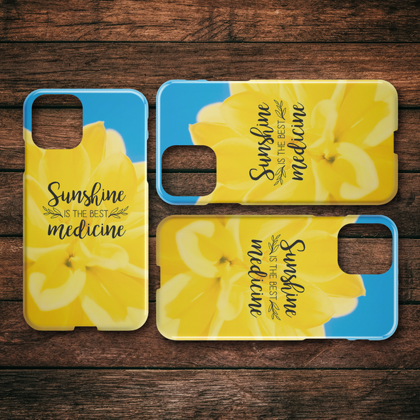 Sunshine is the Best Medicine Spring iPhone Case