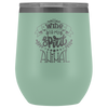 Wine is My Spirit Animal  12oz Wine Tumbler