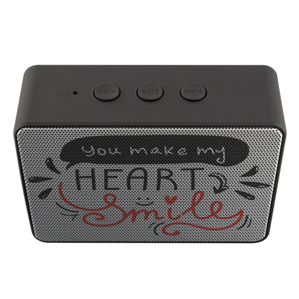 You Make My Heart Smile Bluetooth Speaker