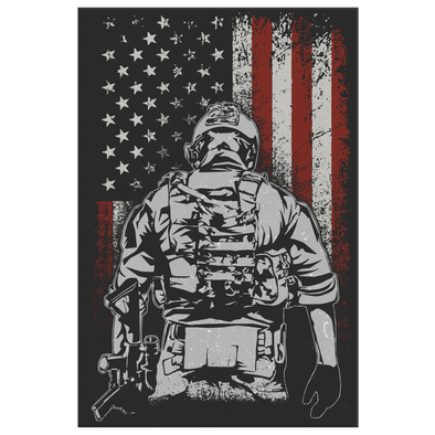 We Honor Those Who Served Canvas Wall Art