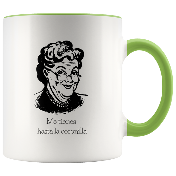 Hasta La Coronilla 11oz Accent Mug