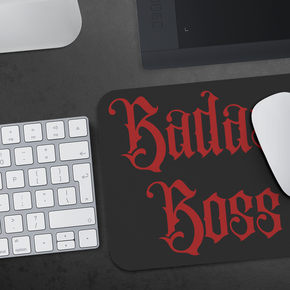 Badass Boss Mousepad