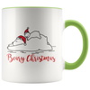 Beary Christmas 11oz Accent Mug
