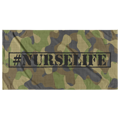 #NurseLife Beach Towel
