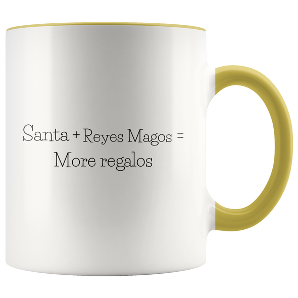 More Regalos 11oz Accent Mug