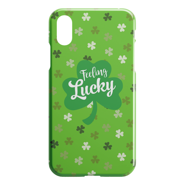 I'm Feeling Lucky iPhone Case