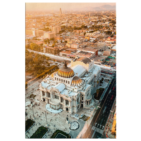 Palacio de Bellas Artes México Canvas Wall Art