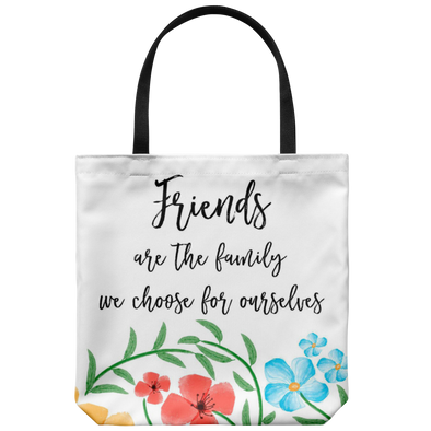 Friends Are Family Tote Bag