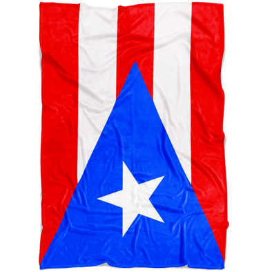 Dreaming with Puerto Rico Fleece Blanket