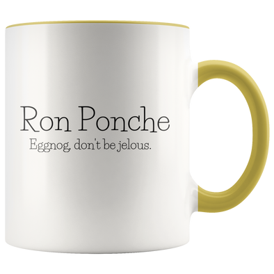 Ron Ponche 11oz Accent Mug