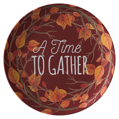 "A Time To Gather 10"" Dinner Plate"