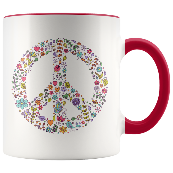Peace 11oz Accent Mug