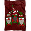 Santa's Lil' Squad Fleece Blanket