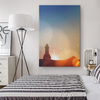 Lighthouse Sunrise Canvas Wall Art
