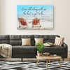 Grow Old Along With Me The Best Is Yet To Be Canvas Wall Art