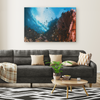Lush Coral Reef Canvas Wall Art