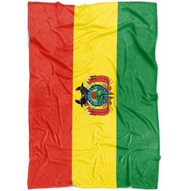 Dreaming with Bolivia Fleece Blanket