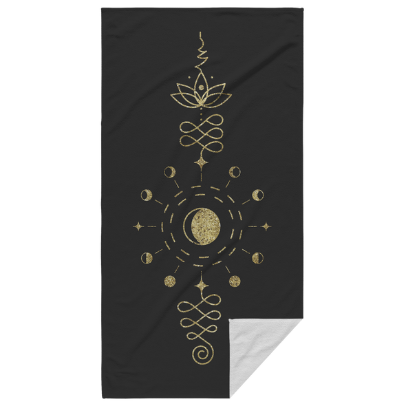 Mystical Signs Beach Towel