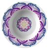 "Purple & Blue Lotus 8.5"" Bowl"