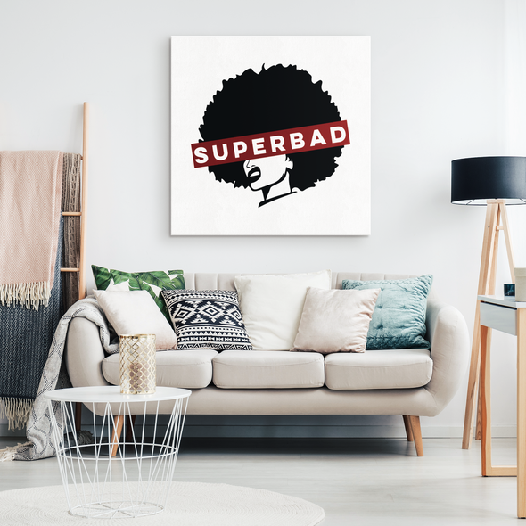 Super Bad Canvas Wall Art